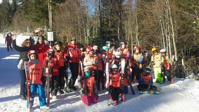 На ски пистата