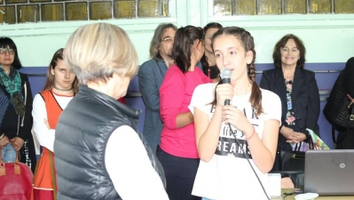 Среща с Нешка Робева
